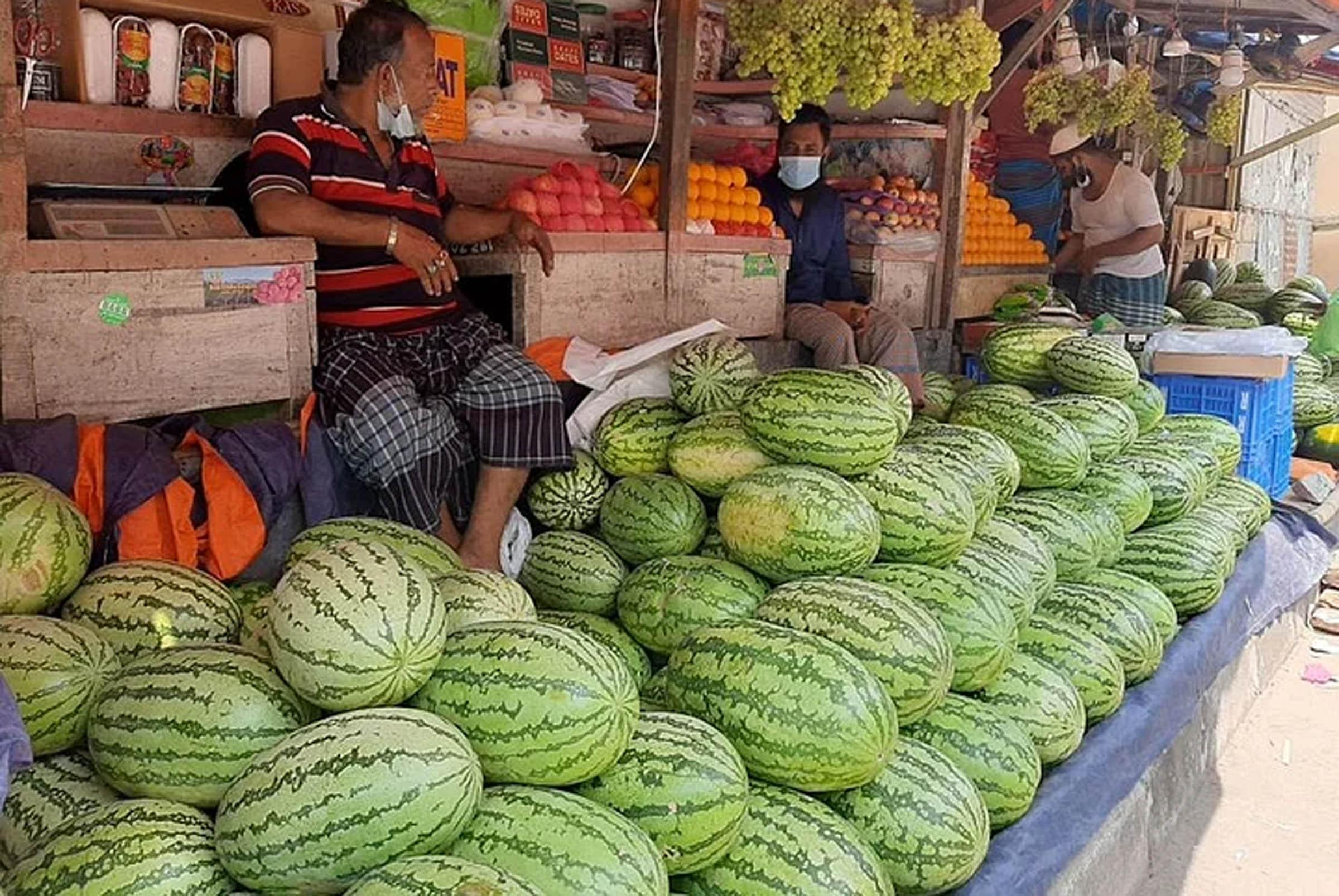 Photo of তরমুজের বাজারে লকডাউনের প্রভাব নেই, দামও ভালো