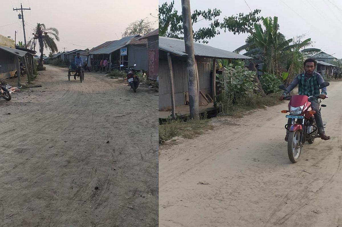 Photo of কলাপাড়ায় ২৫ কি:মি: কাঁচা রাস্তার বেহাল দশা