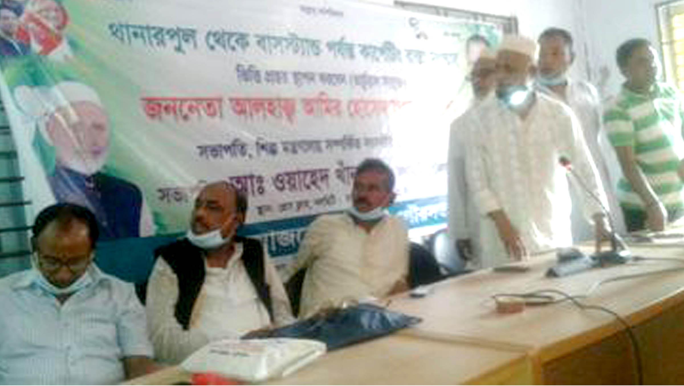 Photo of নলছিটিতে রাস্তার কাজের উদ্ভোধন করলেন আমু